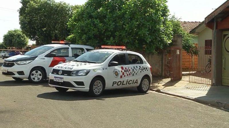 Casal foi encontrado morto dentro de casa em Pereira Barreto (SP) — Foto: Reprodução/TV TEM
