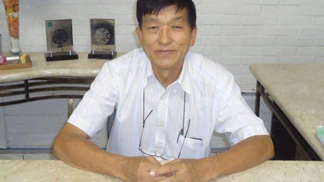 O prefeito de Lavínia, Mário Hiroshi Yamashita (PSDB). Foto: Divulgação