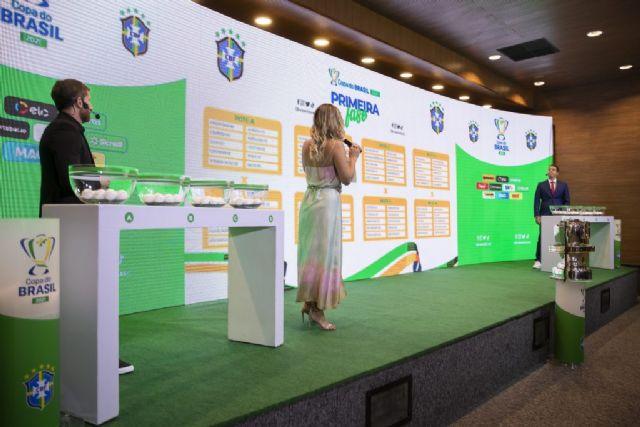 Sorteio da Copa do Brasil 2021. Fotos Thais Magalhães/CBF