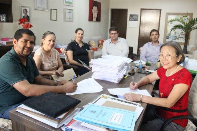 """Escola Municipal de Ensino Infantil """"Eulália Matos de Oliveira"""" vai produzir sua energia através de placas solares"""
