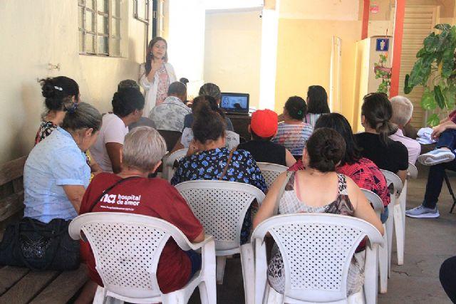 Eventos estão sendo realizados pela Secretaria de Saúde - crédito: Secom/Prefeitura