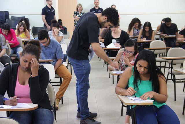 """Prova acontece na Emef """"Anna Maria Marinho Nunes"""" das 9 às 12 horas. Os candidatos deverão comparecer no local da prova com antecedência mínima de 30 minutos - crédito: Secom/Prefeitura"""